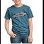 Dickies Dickies Boys' Short-Sleeve Skateboard Premium Comfort Graphic T-Shirt (Ocean Blue)