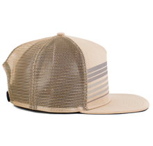 No Bad Ideas Kendrick Trucker Cap OSFM, Tan Khaki