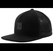Omri Snapback Cap OSFMO, All Black