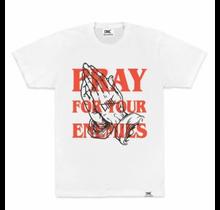 Ethik Worldwide Pray For Your Enemies Tee, White