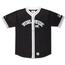 Ethik Worldwide Baseball Jersey, Black