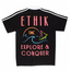 Ethik Worldwide Explore & Conquer Polo, Black