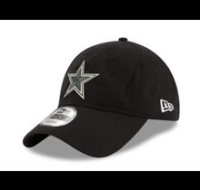 Dallas Cowboys New Era Mens Black Adjustable 9Twenty Cap