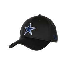 Dallas Cowboys New Era Mens Training Mesh 39Thirty Cap, Black