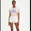 Levi Strauss & Co. Levis Women's Graphic Varsity Tee World Crest Peach Blush