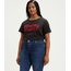 Levi Strauss & Co. Levis Women Perfect Tee PLUS BATWING MINERAL BLACK