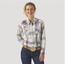 Wrangler Wrangler Women's LS Snap Plaid Shirt LW6510M