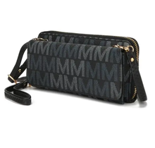 Mia Farrow Collection Wallet Cross Body MU6416 -  Black
