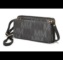 Mia Farrow Collection Wallet Cross Body MU6416 -  Dark Grey