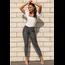 YMI Jeans YMI Junior High-Rise Animal Print Skinny Jean - Charcoal Snake - P941608