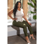 YMI Jeans YMI Junior Plus Size Hyperstretch Skinny Jean EP527931 - Cypress Green