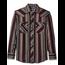 Wrangler Wrangler Men's Western Flannel Shirt Lightweight Stripe 75098AS