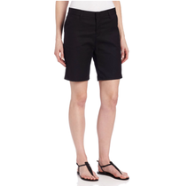 Dickies Women's Flat Front Short FR221BK  - Black