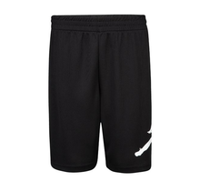 Jordan Boy's Jumpman Wrap Logo Mesh Shorts Black; Size: 4-7 | 857371-023