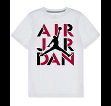 Air Jordan Big Boy's  S/S Air Stencil Tee 952664-001, White
