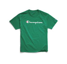 Champion Men's Classic Graphic TEE, Kelly Green