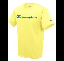 Champion Men's Classic Graphic TEE, Journey Yellow GT23H 9HZ