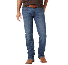 Wrangler Rock 47 Slim Straight Jeans, Duet MRS47DT