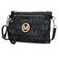 MKF Collection Leah 3 in 1 Crossbody|Wristlet and Belt Bag  | Black