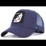 Mesh Snapback Hat | Lone Wolf | Navy