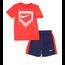 Nike Nike Boy's Swoosh Baseball Plate Set   Midnight Navy/White/University Red