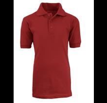 Galaxy Unisex School Uniform Polo   Burgundy