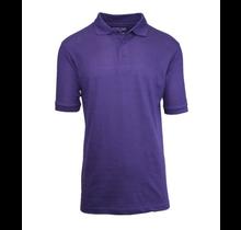 Galaxy Unisex School Uniform Polo | Purple