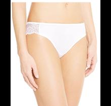Maidenform® Comfort Devotion® Lace Back Tanga | White