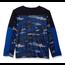 Hanes Sport™ Boys' Long Sleeve Pieced Tech Tee | Fast Dash Camo/Navy/Surf The Web