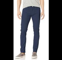 WT02 Men's Skinny Denim Pants, Navy Blue