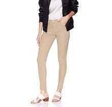 Southpole Women's Basic Straight Pant | Light Khaki