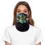 ePretty Tube Face Mask Multiclava | Skull Face | Green/Black