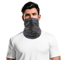 Tube Face Mask Multiclava | Digi Camo | Black/Grey