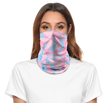 Tube Face Mask Multiclava | Cotton Candy | Pink/Blue