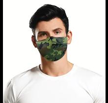 Face Mask | Green Camo