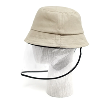 Kids Bucket Hat with Removable Full Face Shield