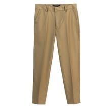Gioberti Boy's Adjustable Waist Dress Pants | Khaki