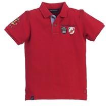 Gioberti Boy's Pique Yacht Club Polo Shirt