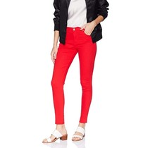 Southpole Women's Basic Straight Pant 18323-3390 | Red