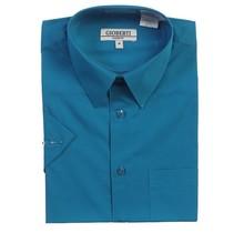 Gioberti Boy's Dress Shirt | Teal Green