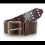 Wrangler Wrangler Men's Triple Perforated Leather Belt | Brown
