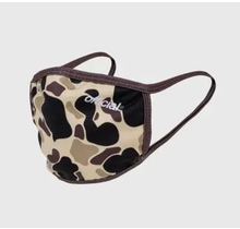 The Official Brand Face Mask Brown Camo