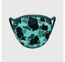 The Official Brand Face Mask Green Camo