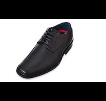 Joseph Allen Big Kid's Oxford Lace Dress Shoes JA80335 | Black