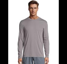 Hanes Cool Dri Long Sleeve Shirt 482 | Graphite