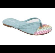 BAMBOO Flip Flip Thong Sandal Cancun-02 | Blue