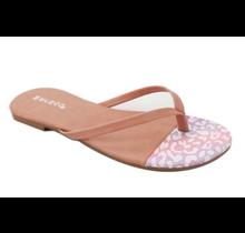 BAMBOO Flip Flip Thong Sandal Cancun-02 | Blush