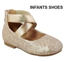 Mini Moda Infant Girl's Shoe Ace-6A   Champagne