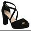 Top Moda Top Moda Heel Asia-75 | Black