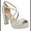 Top Moda Top Moda Heel Asia-75   Silver Glitter